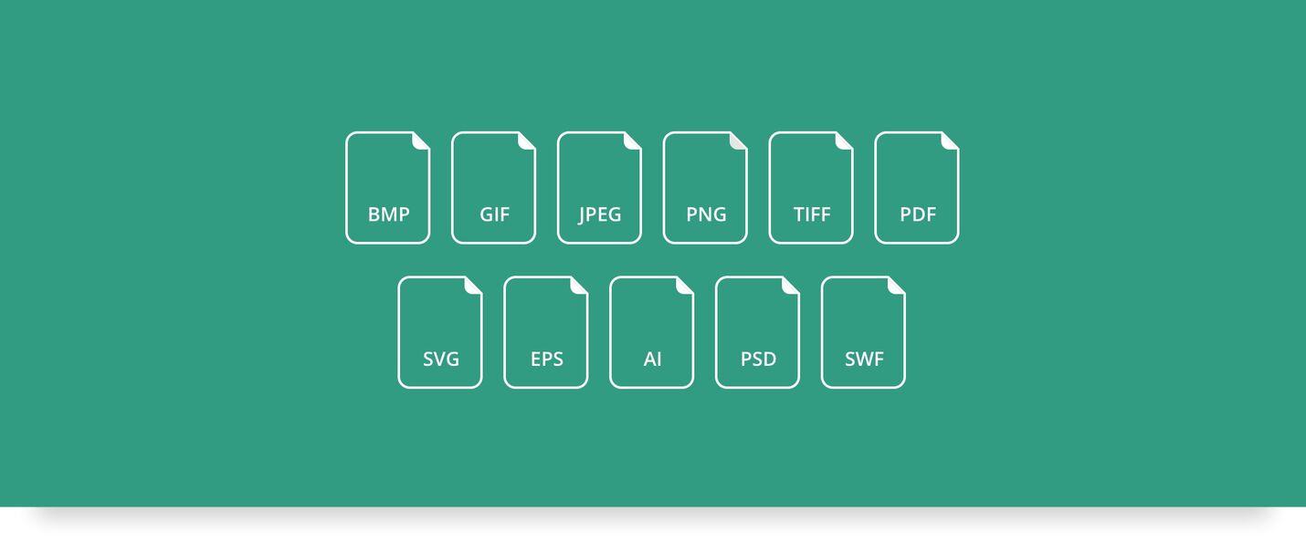 Alle filtyper understøttes i mediebanken